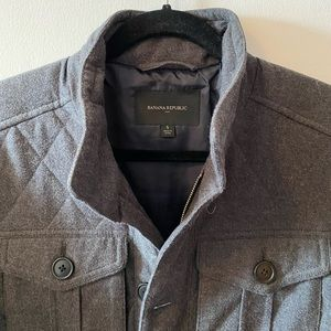 Banana Republic Quilted Field Jacket